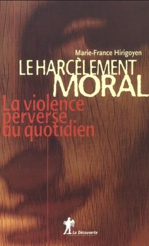 harcelement moral-Marie-France HIRIGOYEN